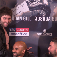 Jay from The Inbetweeners gatecrashes Haye and Bellew press conference