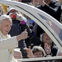 Protestant church leaders urge Pope Francis to come north