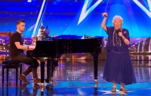 BGT viewers fall in love as 90-year-old singer Audrey rolls back the years