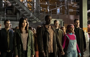 Humans cast attended robot boot camp ahead of new series