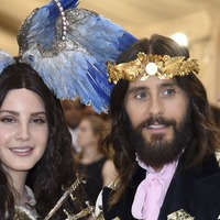 Jared Leto compared to Jesus as he is pictured with Lana Del Rey at Met Gala