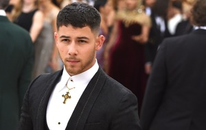 Nick Jonas took tube to one of the biggest fashion events of the year
