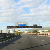 Police seize £3,000 after stopping vehicle on motorway in paramilitarism probe