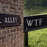 An artist has put up social media-inspired street signs around Oxford