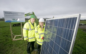 New £7m solar farm powering one of the north's largest water treatment plants
