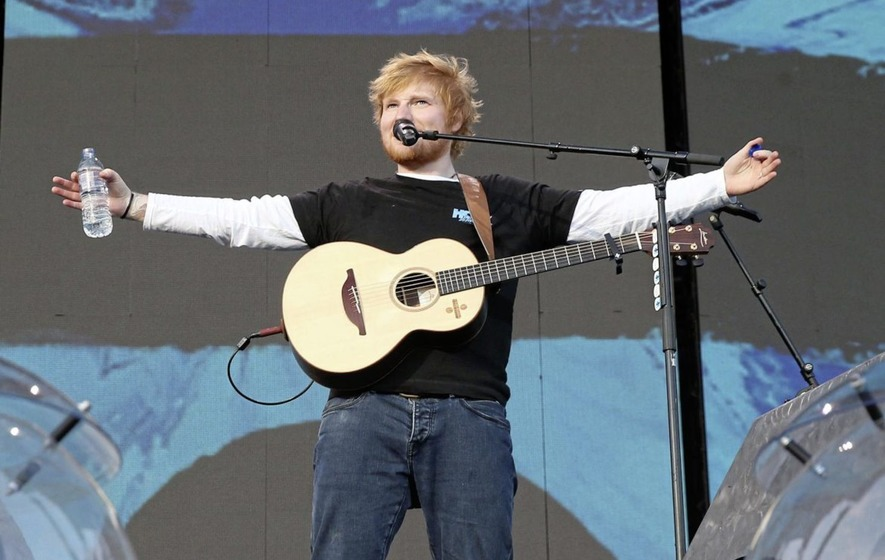 in pictures ed sheeran wows fans at sold out belfast gig. Black Bedroom Furniture Sets. Home Design Ideas