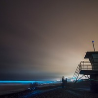 Beaches in San Diego are lighting up blue: Here's why