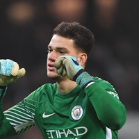 Watch Ederson set the world record for the longest drop-kick