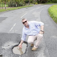 Potholes across rural Co Armagh are destroying my vehicles, businessman says