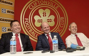 Cliftonville chairman Gerard Lawlor rounds on club's critics