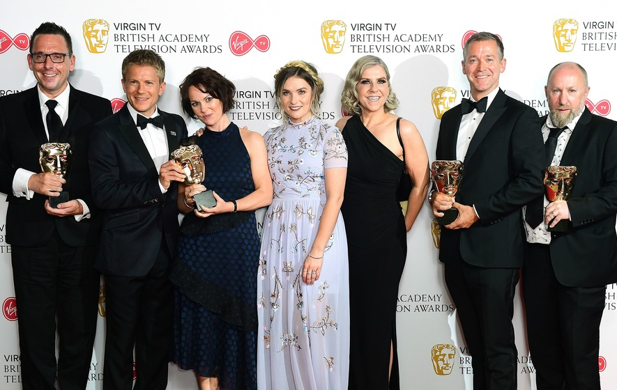 casualty star says show keeps challenging itself following bafta