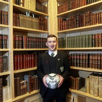 St Malachy's College ace Bobby Burns lights the road for other young footballers to follow