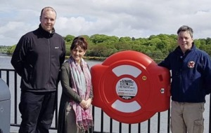 Innovative River Foyle lifebelt system will save lives