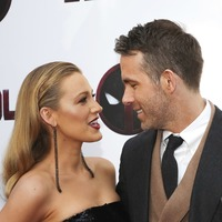 Ryan Reynolds is joined by wife Blake Lively at special Deadpool 2 screening