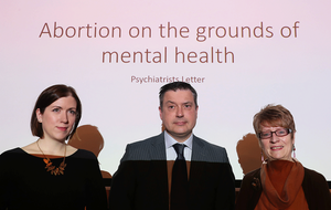 Don't use mental health to justify abortion law change, psychiatrists warn