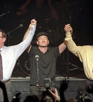 Opinion split of influence of U2's historic Good Friday Agreement Waterfront gig