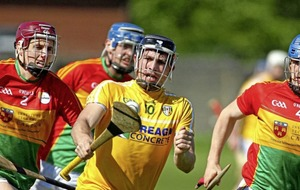 The spotlight is firmly on the Carlow hurlers after horrendous incidents in Corrigan Park