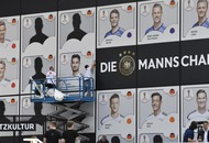 Germany revealed their provisional World Cup squad with giant Panini stickers