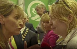 Video: Karen Bradley and Martina Anderson in Brexit spat at Balmoral Show