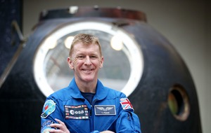 Tim Peake reunited with capsule which returned him to earth