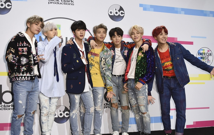 556b1c7198728 K-pop band BTS take over Twitter on Fake Love Friday - The Irish News