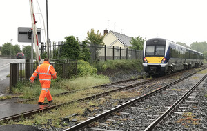 Person struck by train in Lurgan