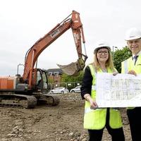 Choice Housing starts construction on £1.7m Newtownabbey scheme