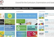 Exams board apologises to pupils for website crash