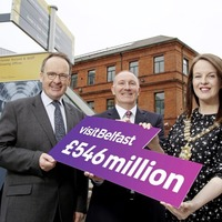 Visit Belfast pledges to deliver half a billion pounds to city's economy by 2022