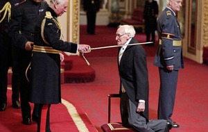 Arise Sir William . . . .