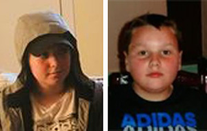 Two missing children may have travelled to Manchester