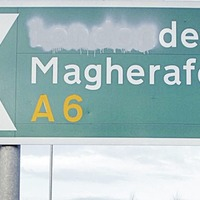 SDLP asks road chiefs to add 'Derry' to 'Londonderry' on A6 signs