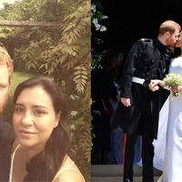 Twitter users are loving this couple who look eerily similar to Meghan and Harry