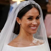 One loose strand of Meghan's hair really stressed royal wedding viewers out