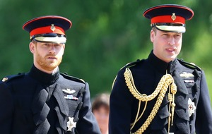 People called out Prince William's outfit for being that bit extra than Harry's