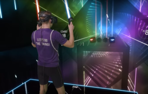 This guy absolutely smashed a game of Beat Saber and it'll make you want to play