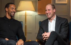 Simon Thomas and Rio Ferdinand join Prince William on dad of the year shortlist