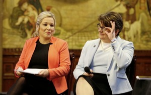 Patrick Murphy: Michelle and Arlene top of the class for defying logic - and democracy