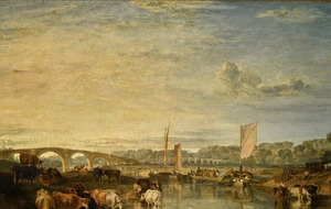 JMW Turner painting of River Thames could fetch £5 million at auction