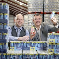 Boost is top of the 'pops' in north's soft drink sales charts