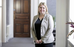 PLATFORM: Secretary of state for Northern Ireland, Karen Bradley