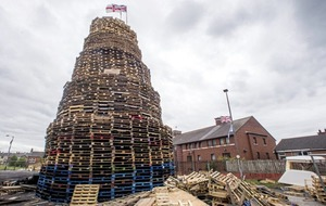 Controversial east Belfast bonfire to be moved