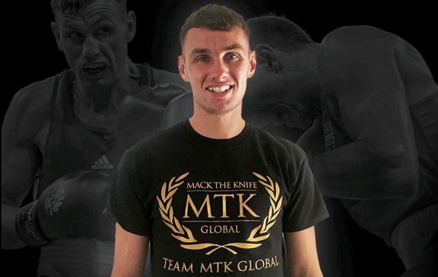 Belfast amateur boxing star Sean McComb is a man with a mission