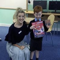 Belfast schoolboy (5) pens story about superhero lollipop to win regional heat of writing competition