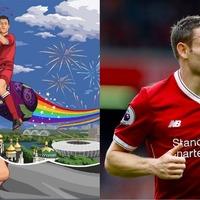 Ribena deftly jumps on the James Milner bandwagon before Champions League final