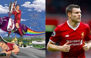 Ribena deftly jumps on the James Milner bandwagon before Champions League final