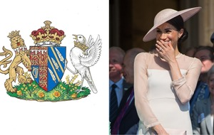 The Duchess of Sussex has a coat of arms and now everyone wants one
