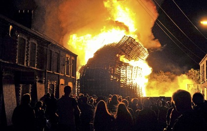 Loyalist bonfire being moved to 'safe space' will still be close to homes