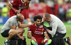 Injured Mo Salah left Champions League final in tears and fans cried with him