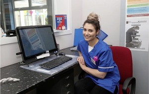 Greek nurse becomes first in north to sit new language exam to allow foreign nurses to work in short-staffed NHS